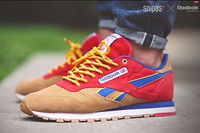 Snipes X Reebok Classic Leather Camp Out 2