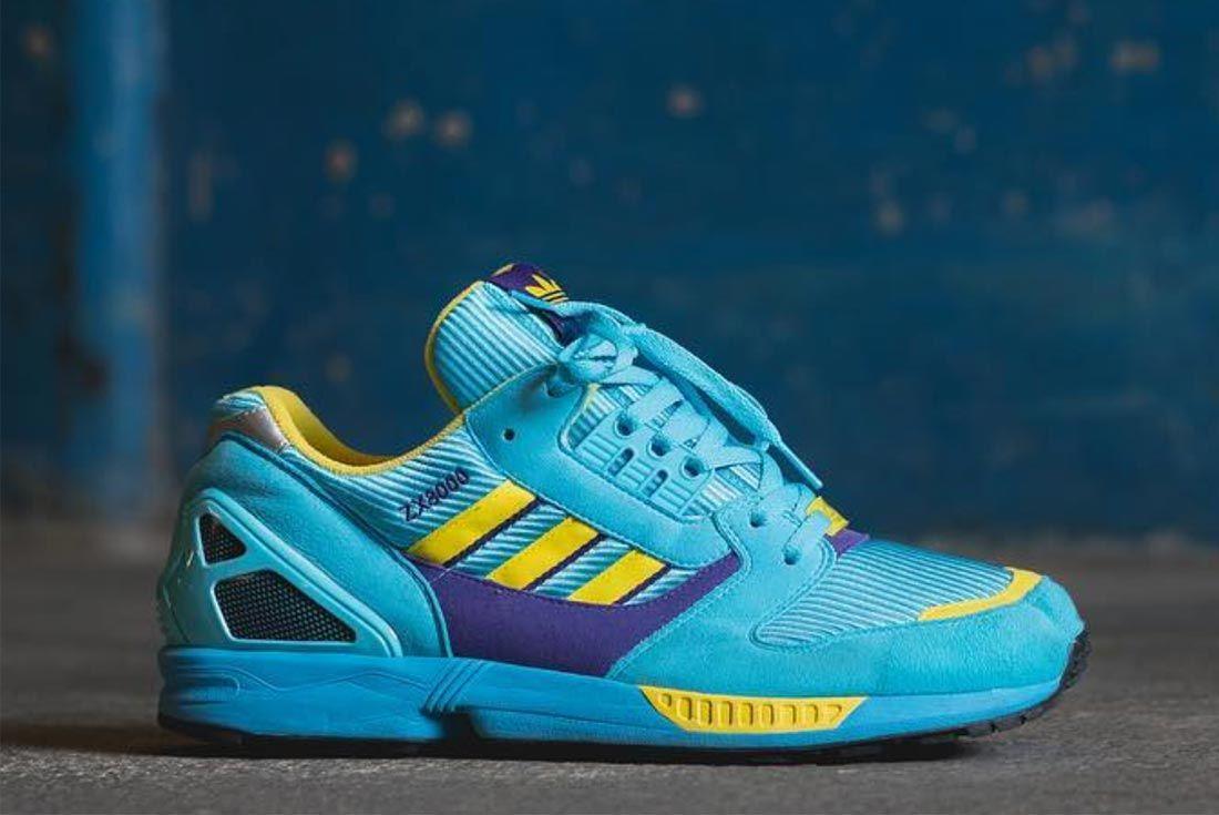 Adidas Zx 8000 Colourway Aqua