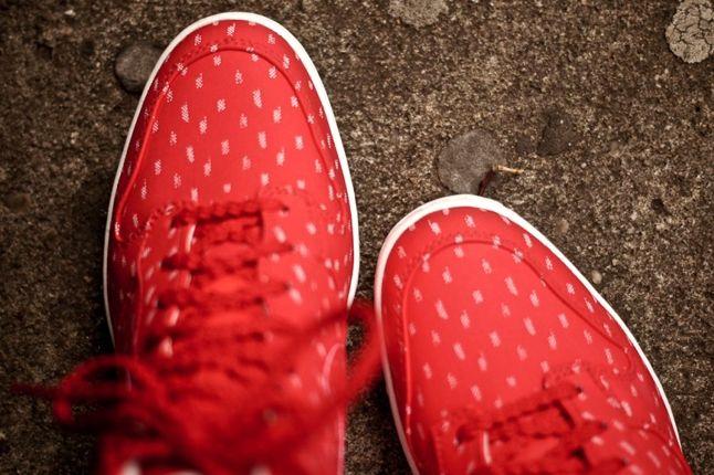 Nike Dunk Sky Hi Red Toe Detail2 1