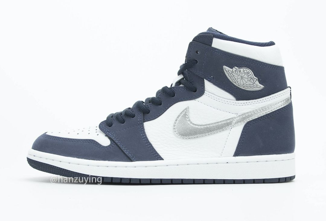 Air Jordan 1 CO JP Midnight Navy Left