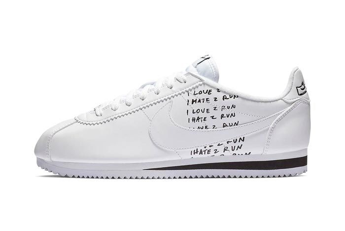 Nike Cortez Bell White Lateral