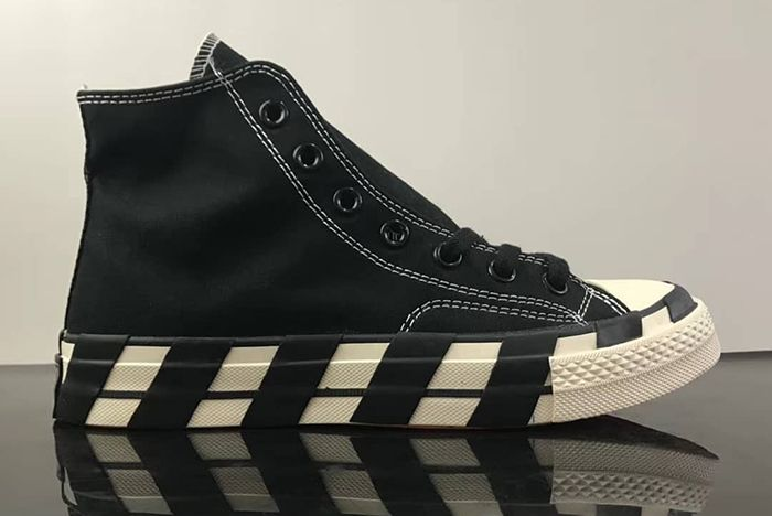 Off White Converse Chuck 70 Stripe Black First Look 1