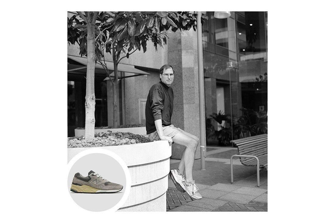 Trainer Spotting Steve Jobs New Balance
