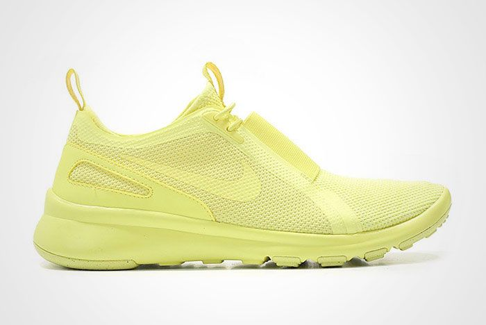Nike Air Current Slip On Trooper Lemon Chiffon Yellow Thumb