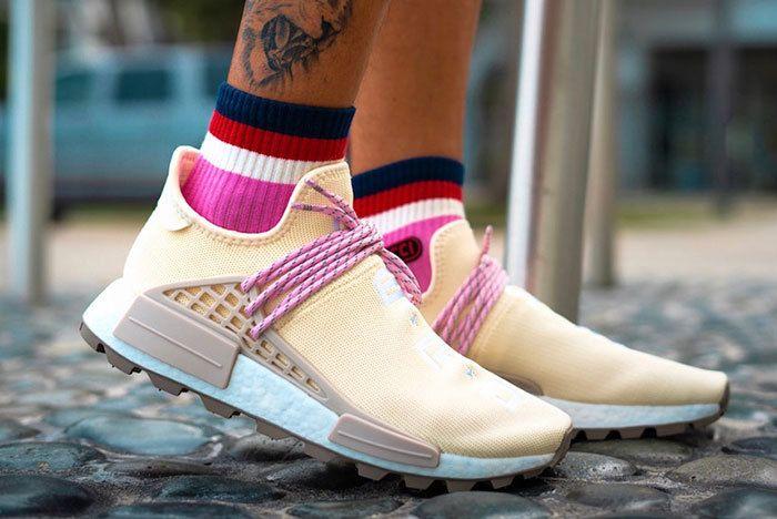 Pharrell Cream Nmd Sneaker Freaker