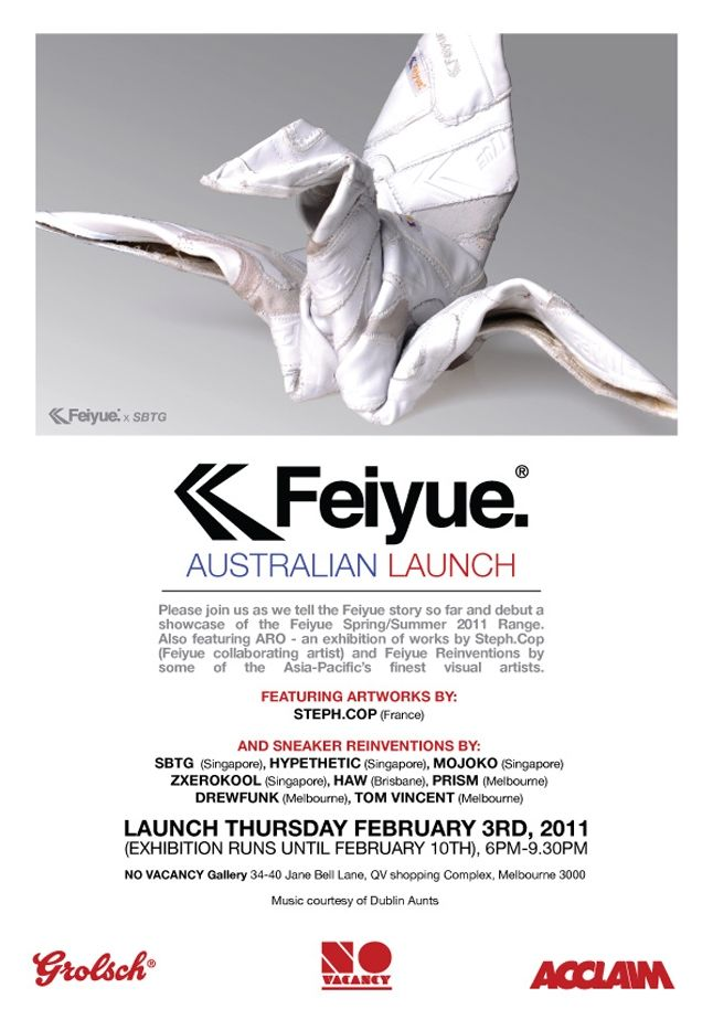 Feiyue Melbourne Launch 1