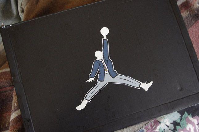 Rocket Boy Nift Jordans Box 1