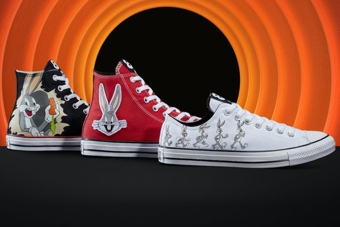 converse x bugs bunny collection