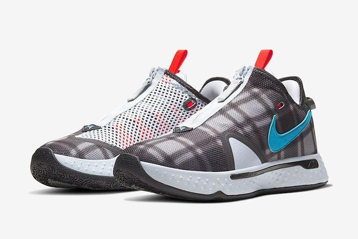 Nike Pg 4 Plaid Cd5079 002 Front Angle