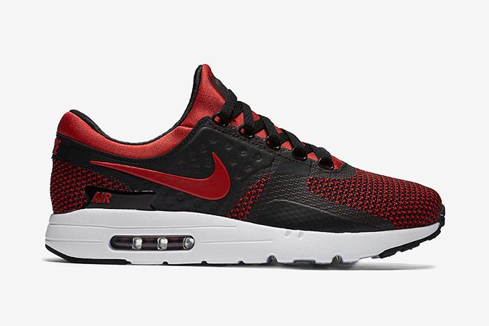 Nike Air Max Zero Bred Black Red 6