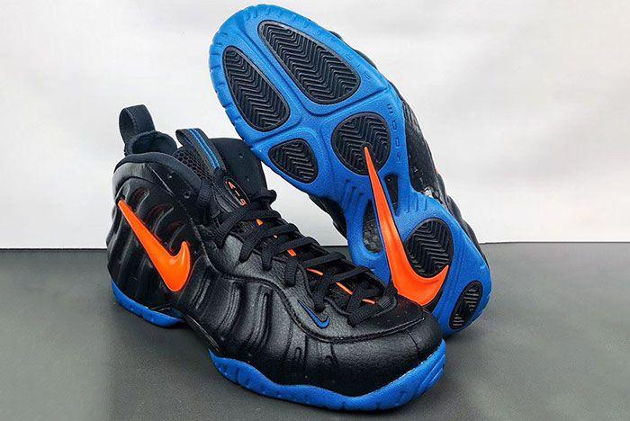 Nike Air Foamposite Pro Knicks 624041 010 2019 Release Date 2 Pair