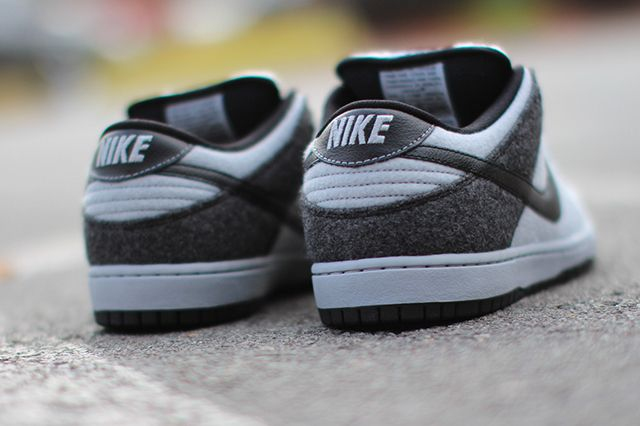 Nike Dunk Low Prm Sb Wolf Grey Wool 1