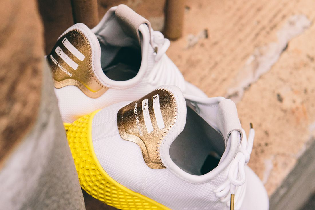 Pharrell Williams X Adidas Tennis Hu Gold 1