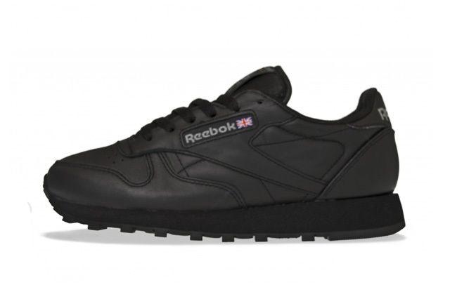 Reebok Classic Leather Triple Black 3