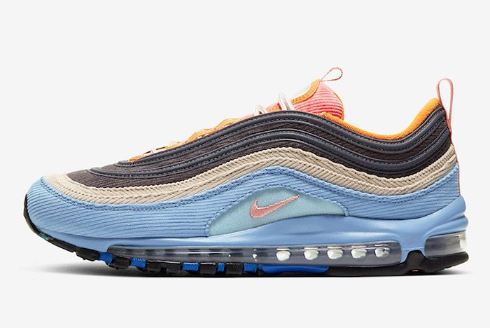 Nike Air Max 97 Corduroy Cq7512 462 Lateral
