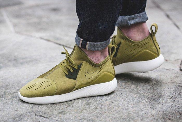 Nike Lunarcharge Premium Green 1