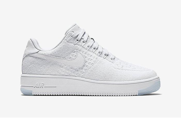 Nike Air Force 1 Low Flyknit White On White12