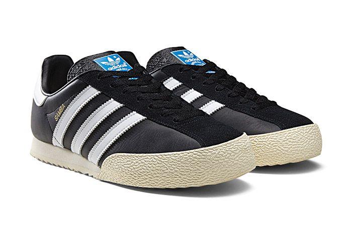 Adidas Spezial Samba Black White 2