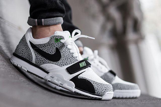 Nike Air Trainer 1 Low St (Safari/Chlorophyll) - Sneaker Freaker