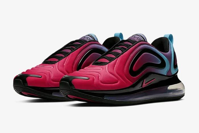 Nike Air Max 720 University Red Blue Fury Pair