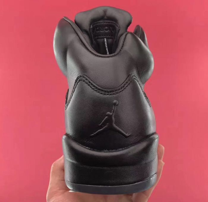 Air Jordan 5 Premium Triple Black4