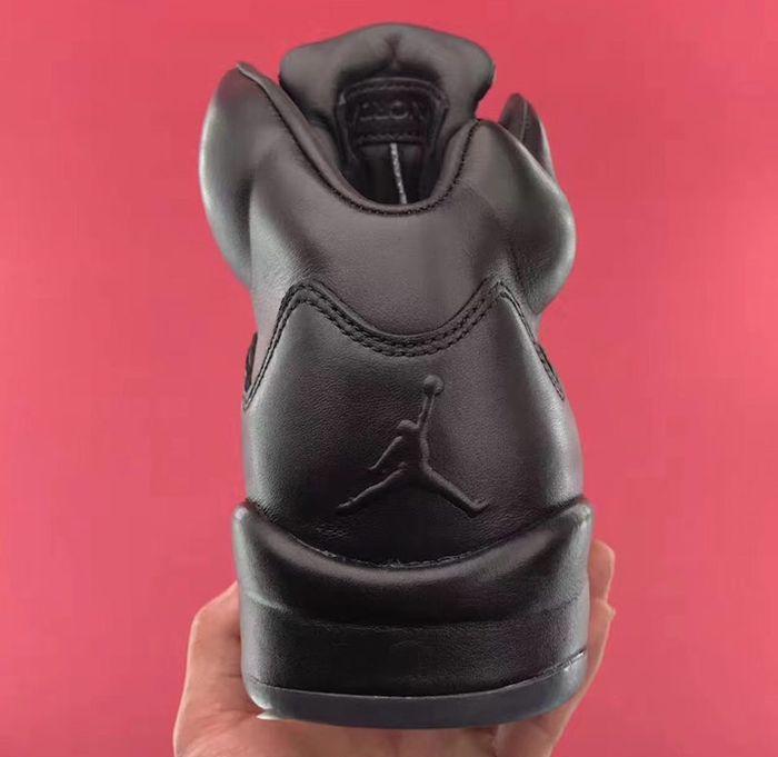 Air Jordan 5 Premium Triple Black4