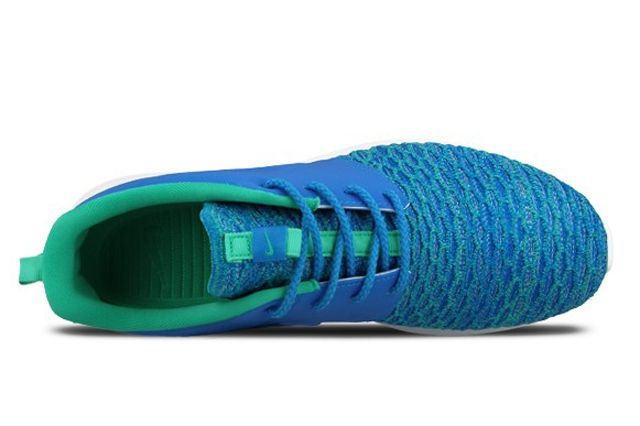 Nike Roshe Nm Flyknit Premium Soar Blue Atomic Teal 1
