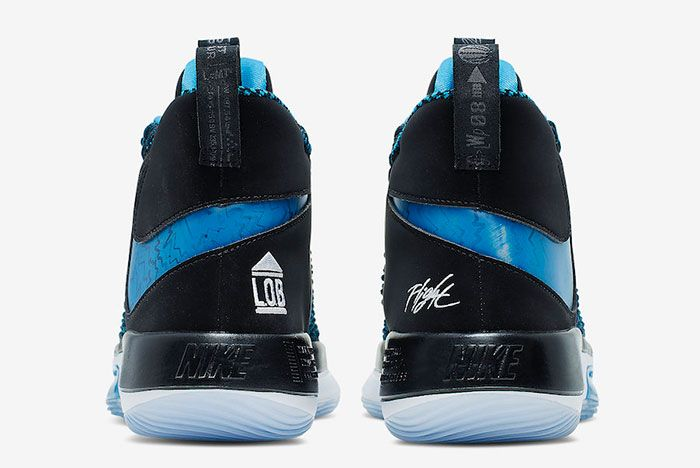 Nike Alpha Dunk Pure Magic Black Photo Blue Bq5401 002 Release Date 4 Heel