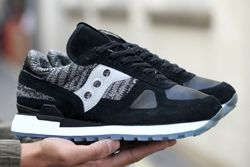 Saucony Bait Shadow Original Black Grey Bumper Thumb