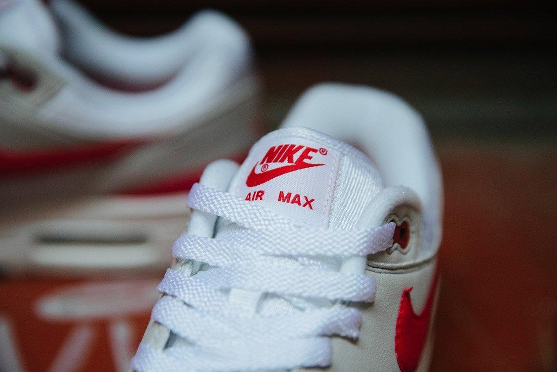 Nike Air Max 1 Anniversary Og Red White 5