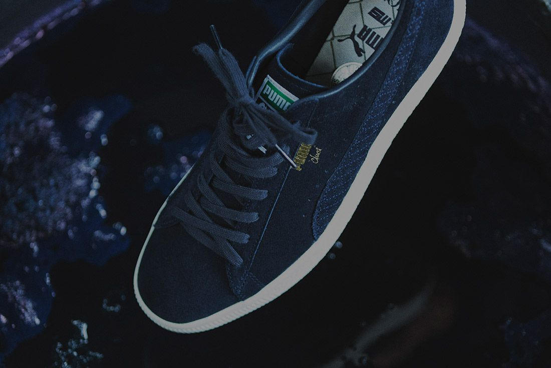 Cluct X Mita Sneakers X Puma Clyde Indigo 12