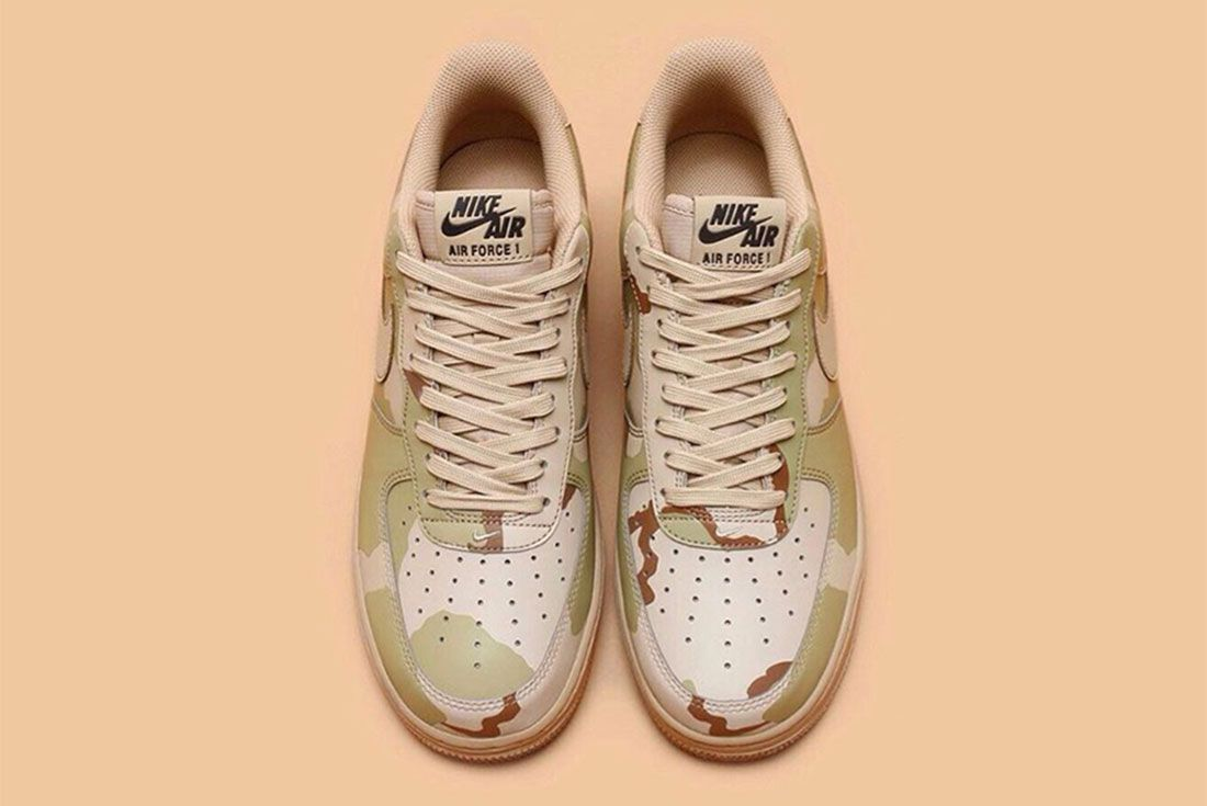 Nike Air Force 1 Camo Reflective 3