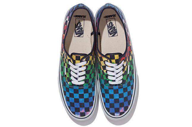 Xlarge Vans Authentic Tie Dye Checker Flag 6 1