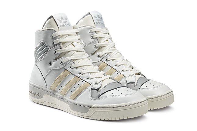 Adidas Originals Rivalry Pack Hi Wht Silver Hero 1