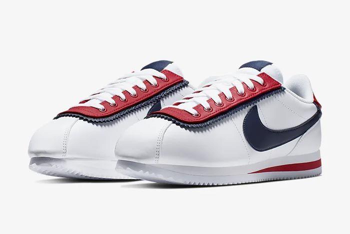 Nike Cortez Basic Se University Red Pair