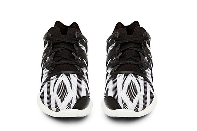Y 3 Yohji Boost Black And White 6