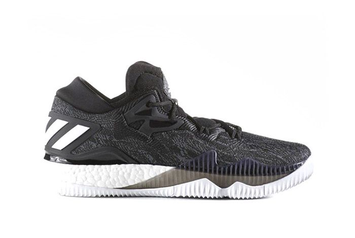 Adidas Crazylight Boost 2016 Black White 1