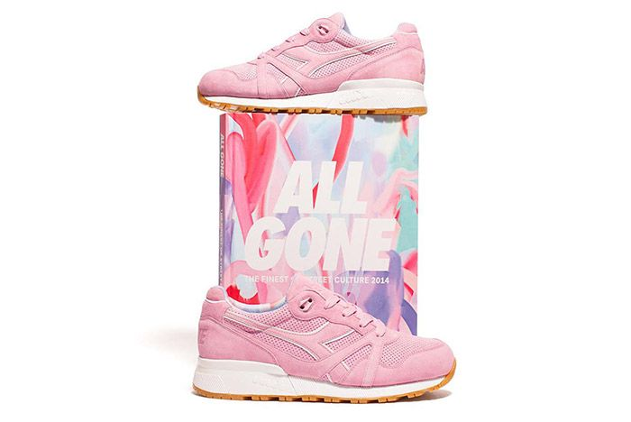 La Mjc Diadora N9000 All Gone 2014 Pink 4