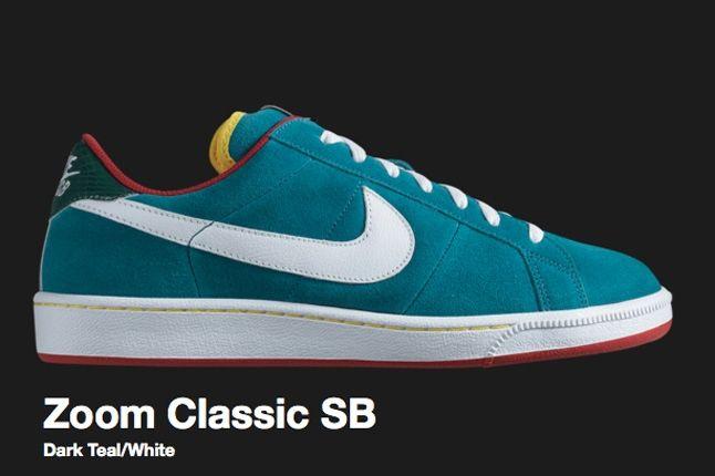 Nike Dark Teal Zoom Classic Sb 2009 1