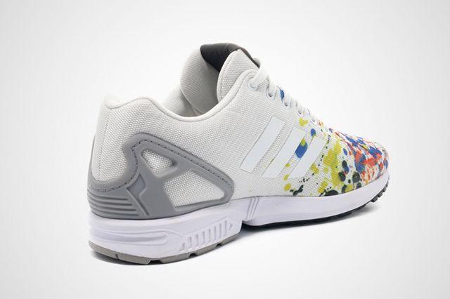 Adidas Zx Flux Splattered Toe 4