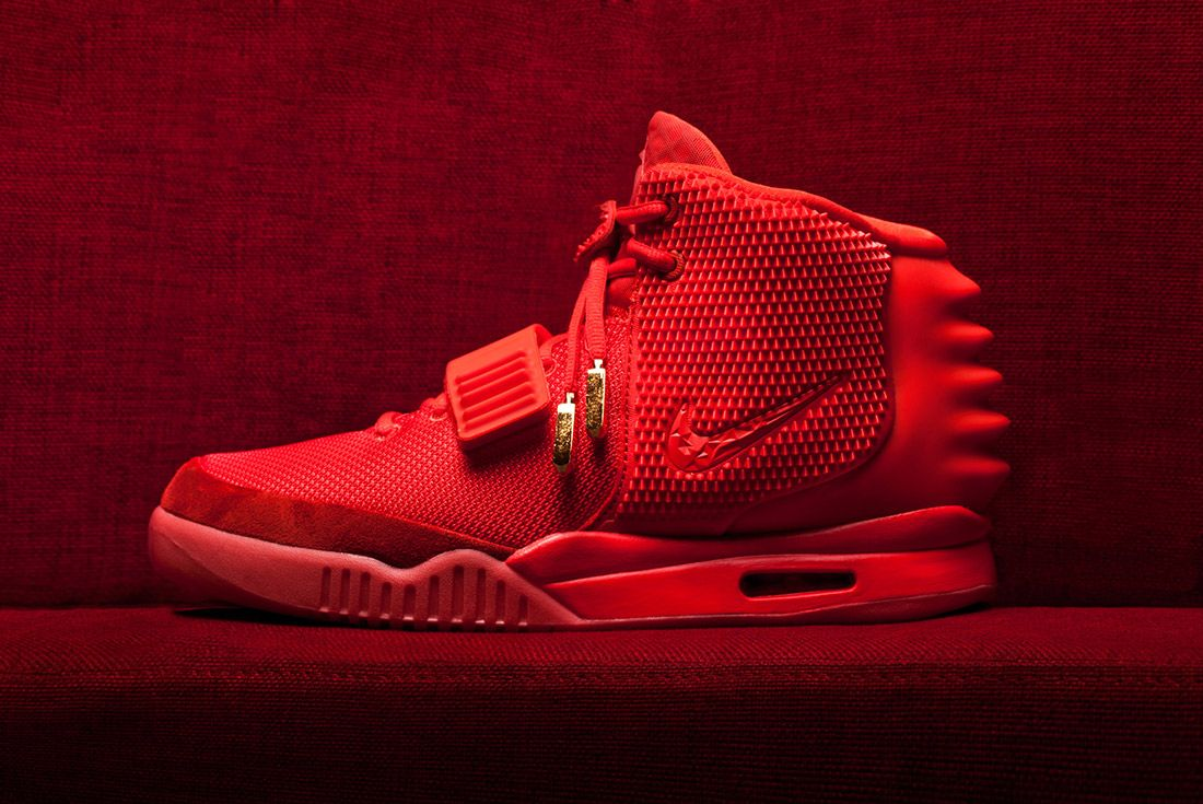 Material Matters History Of Yeezy Nike 2 Red October