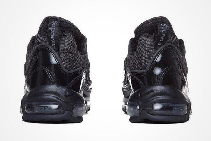 Supreme X Nike Air Max 98 Black 5
