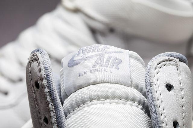 Nike Af1 Hi Summit White Silver Bumper 1