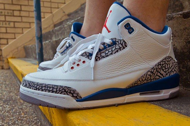 Air Jordan Iii True Blue 2