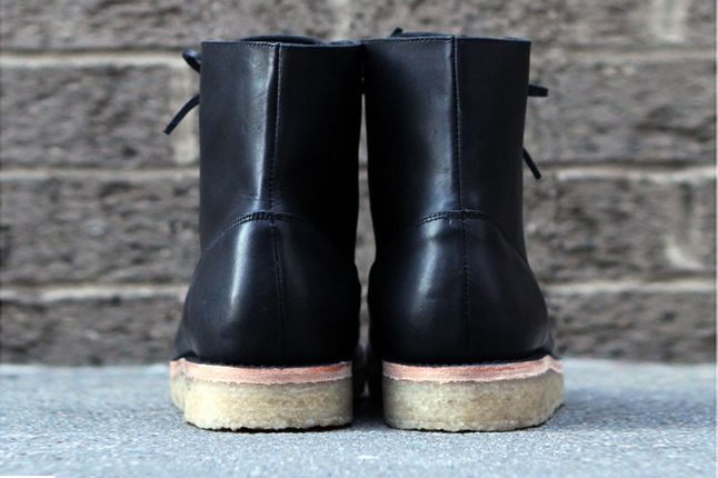 Fieg Caminando Office Boots Black Heel 1