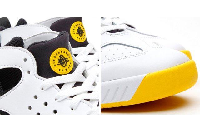 Nike Air Tech Challenge Huarache Og Black Tour Yellow 1