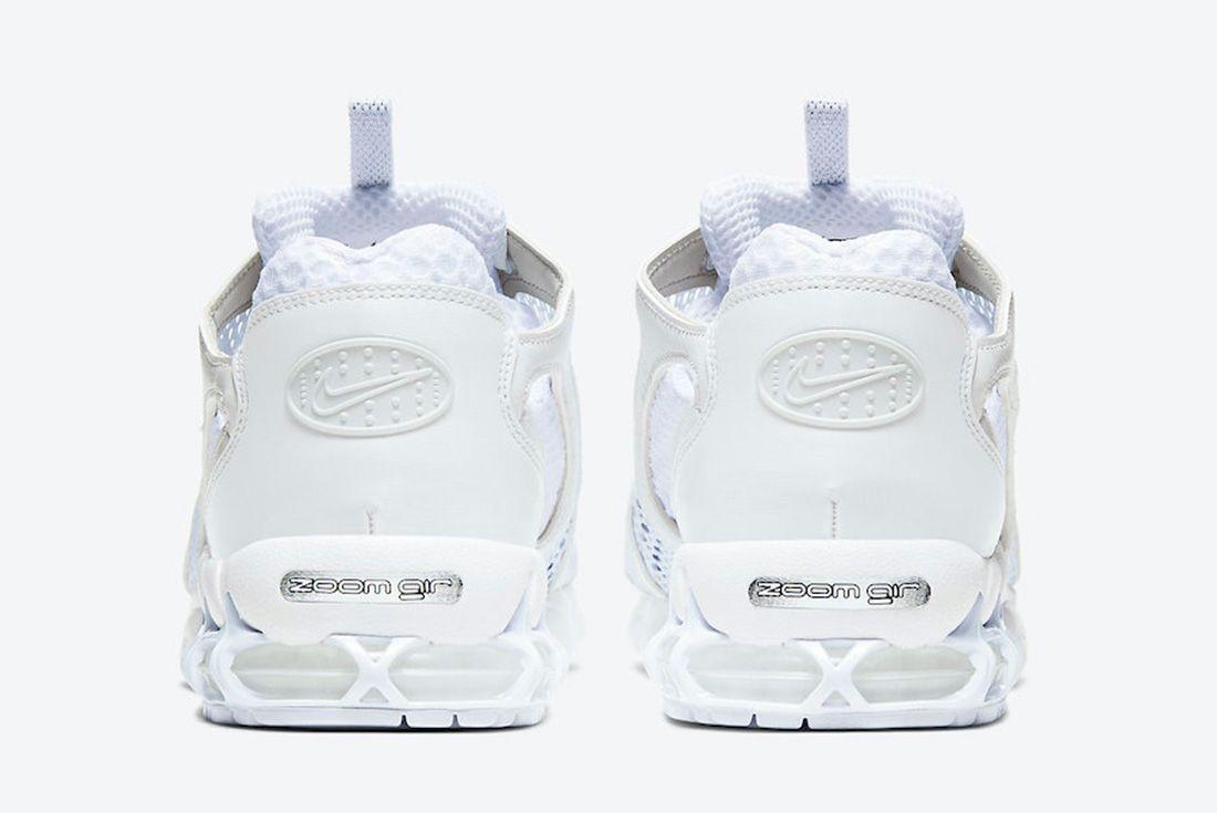 Nike Air Zoom Spiridon Caged White Heel