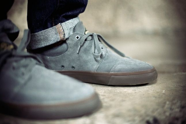 Huf Ramondetta Pro Grey Toe Detail 1
