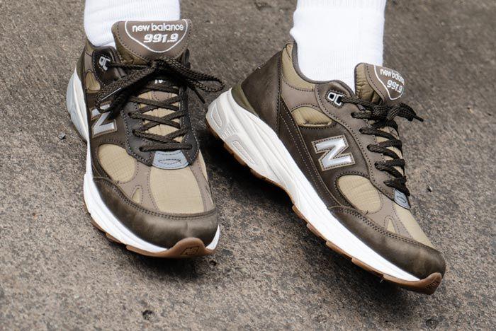 The New Balance 991.9 Gets a Khaki Remix - Sneaker Freaker