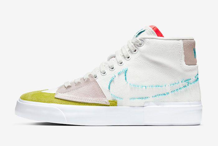 Nike Sb Blazer Mid Edge Left